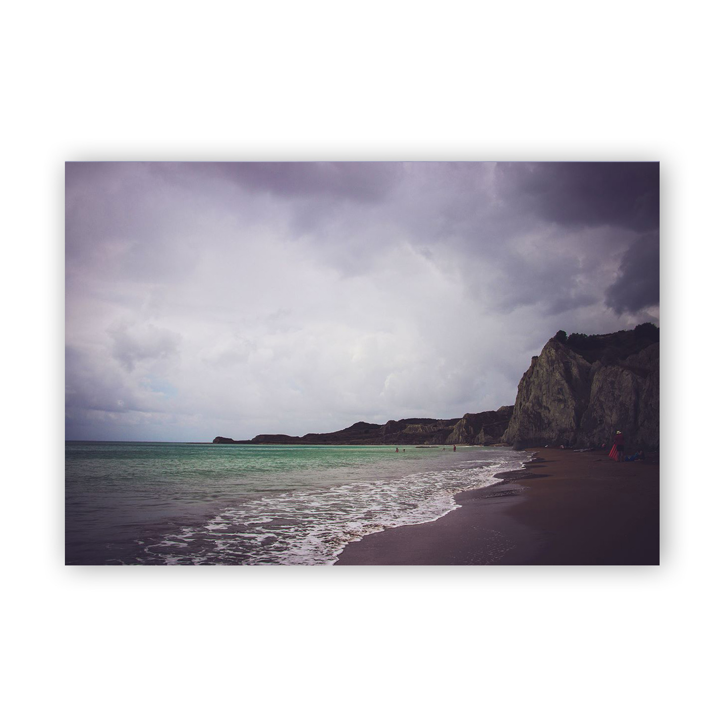 Stormy beaches