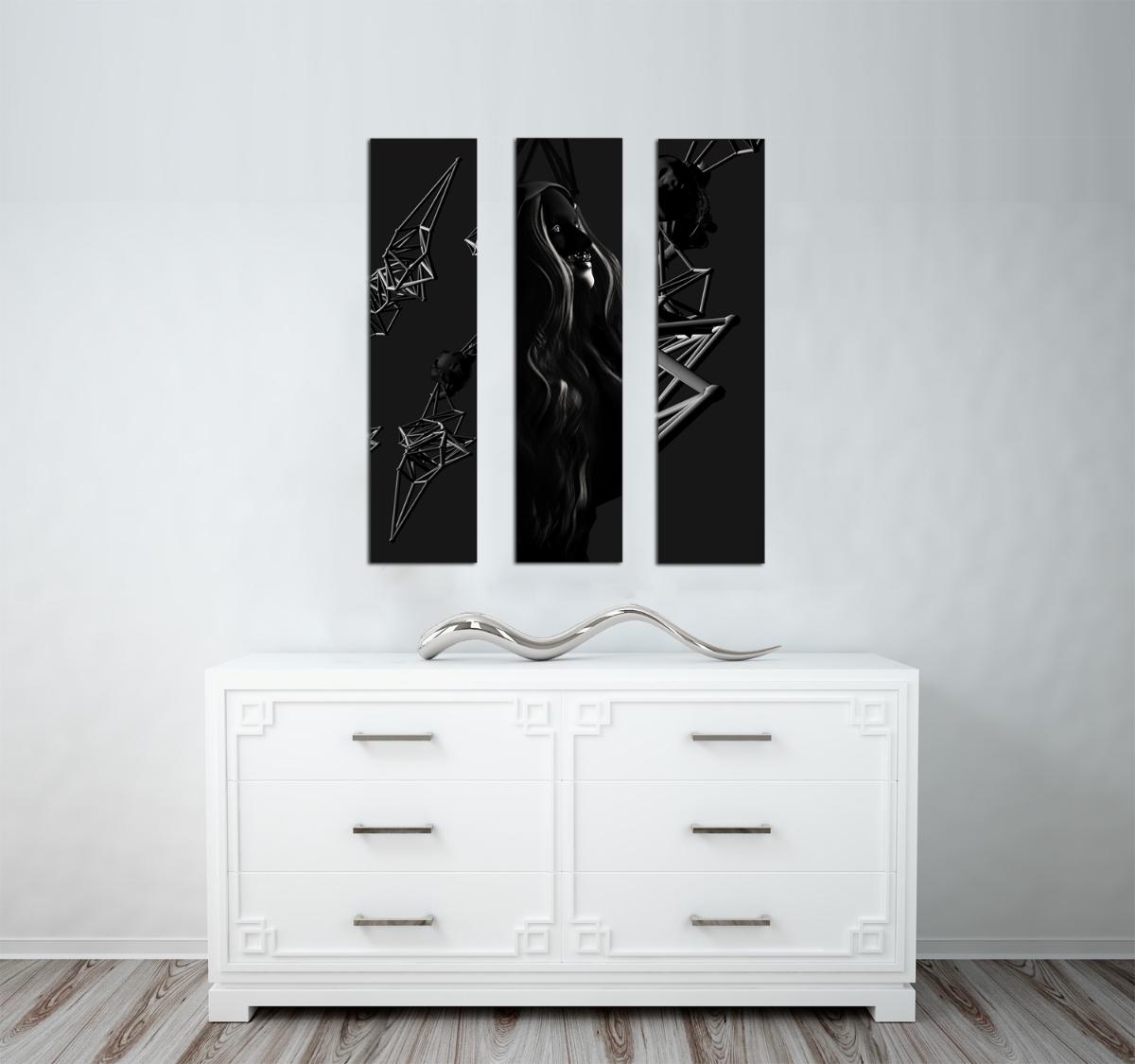 Triptych - Figurative
